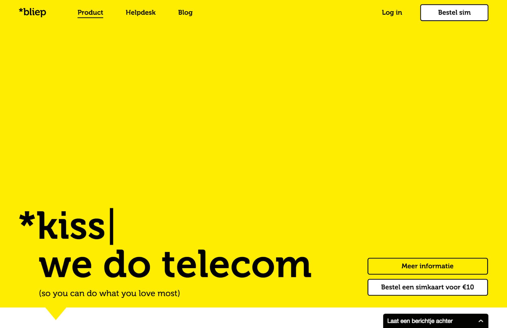 bliep-website